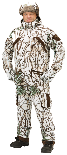 Костюм JahtiJakt Valle PADDED HUNTING Snow Camo