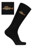 Термоноски NordKapp Bamboo Fish 495 black